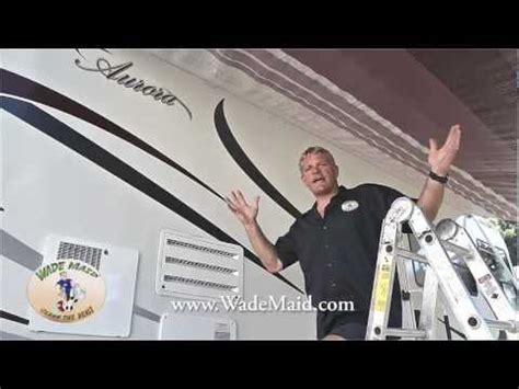 how to clean rv awning cleaning your rv awning how to save money and do it