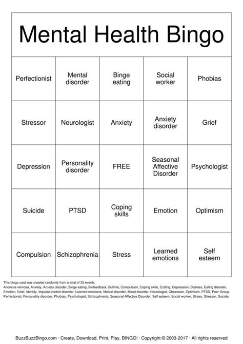 Coping Card Template by Coping Skills Bingo Pdf Search Results Calendar 2015
