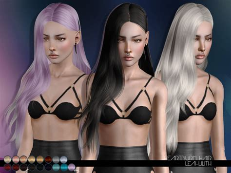 the sims 3 free hairstyles downloads leah lillith s leahlillith heartburn hair