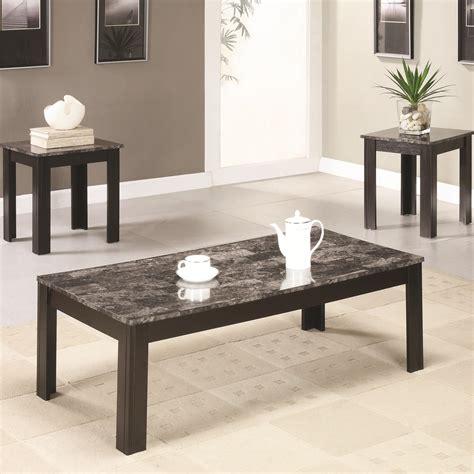 bana home decor bana home decor 701508 3 piece occasional table set with