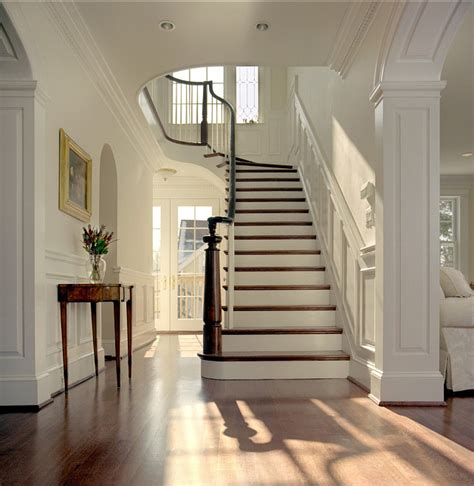 big white staircase beautiful wooden floors high linen white staircase interiors by color