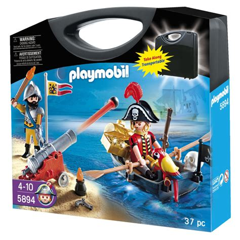 row boat kits puzzle pirates pirates carry case from playmobil wwsm