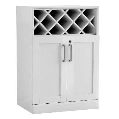 base cabinet wine storage newage products home bar wine storage base cabinet white
