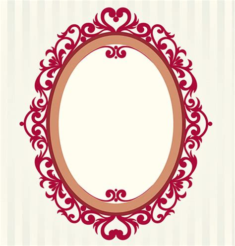 design my photo frame 20 free vector vintage frame designs