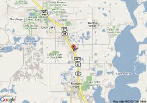 Lady Lake Florida Map by Map Of Microtel Inn And Suites Lady Lake Lady Lake