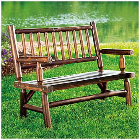 Wilson And Fisher Log Chair by Wilson Fisher 174 Log Bench Big Lots