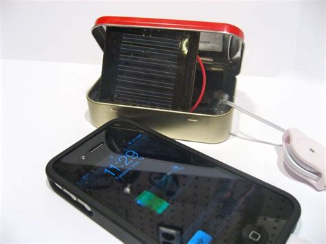 diy solar phone charger electronics diy make your own solar iphone charger diy