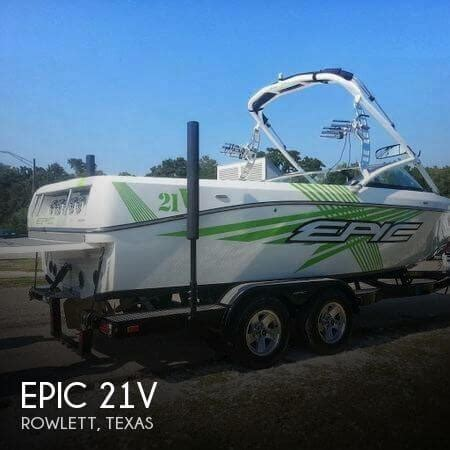 epic boats for sale in texas for sale used 2013 epic 21v in rowlett texas boats for