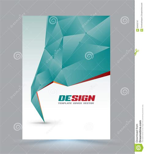 cover page design template cover page layout template stock vector image 60453747