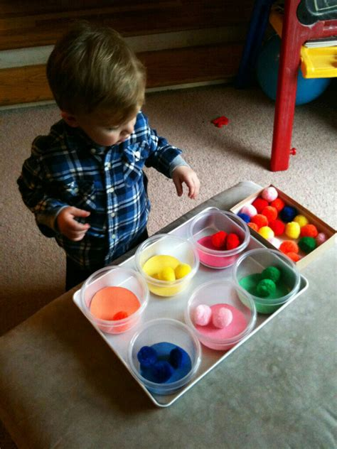 projects toddlers for the of learning diy color recognition sorting
