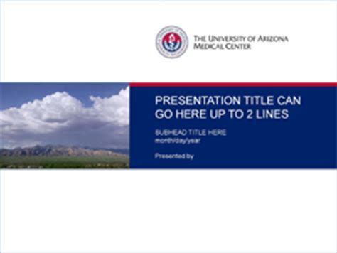 powerpoint templates university of phoenix the university of arizona health network powerpoint