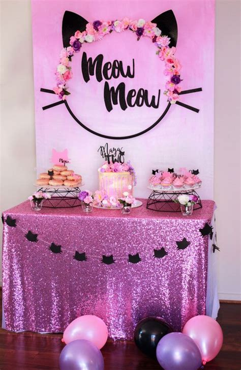 themes for the kitty party best 25 cat birthday ideas on pinterest kitty party
