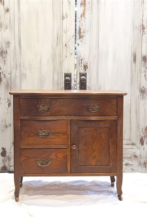 Standing Dresser by Antique Repurposed Wash Stand To Small Dresser The