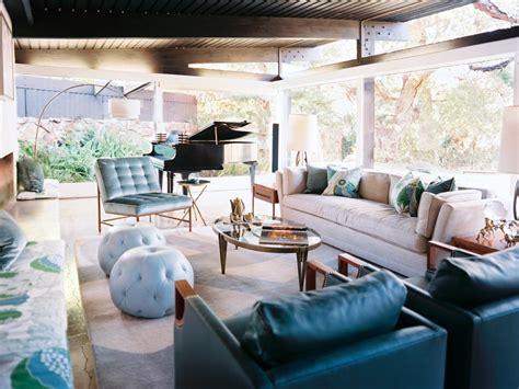 midcentury living room midcentury modern living room hillary thomas hgtv