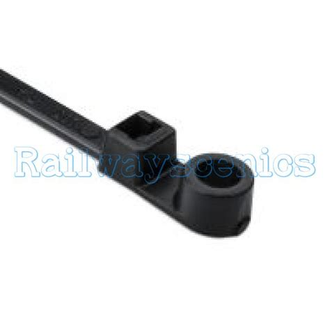 Kabel Tie Kabel Ties Cable Tie 2 X 200 100 Pcs 110mm x 2 5mm black mount cable ties pkt 50 railwayscenics