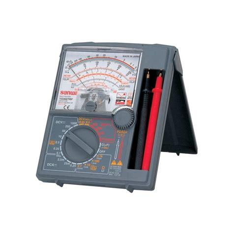 Baru Asli Multitester Sanwa Yx 360 Trf harga jual sanwa yx360trf analog multitester