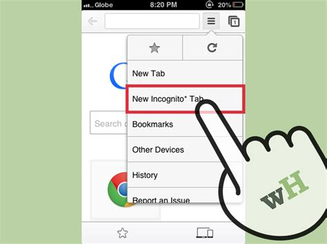 chrome incognito 3 ways to activate incognito mode on google chrome wikihow