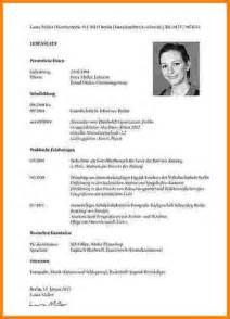 Lebenslauf Unterschreiben Muster 7 Muster Lebenslauf Reimbursement Format