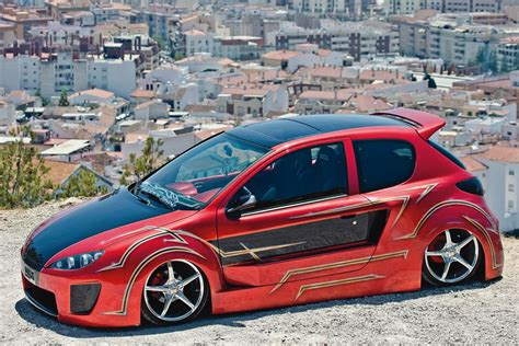 peugeot 206 tuning peugeot images peugeot 206 by maxi tuning hd wallpaper and