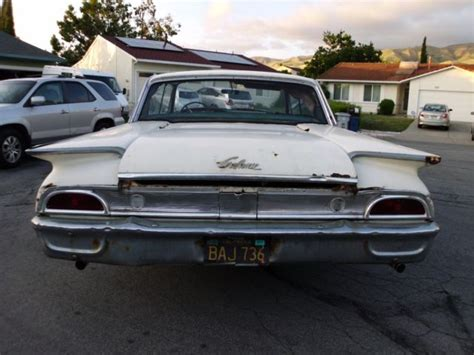 1960 ford galaxie 500 1960 ford galaxie 4 doors classic runs for sale