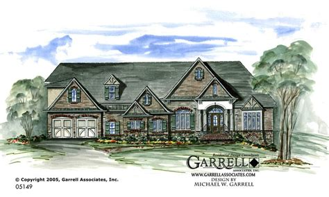 normandy style house plans part 1 by garrell associates garrell associates inc presidio house plan 05149 front
