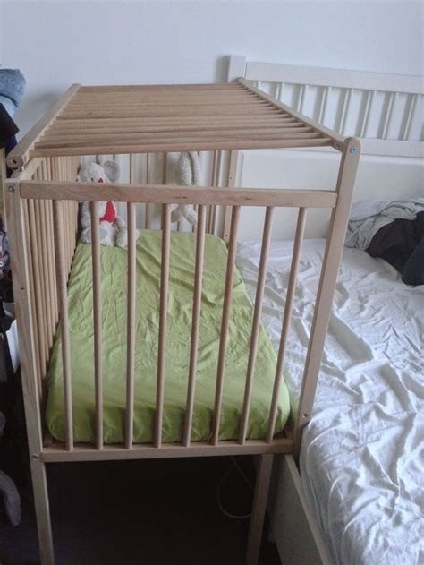 diy ikea sniglar hack co sleeper with safety gate
