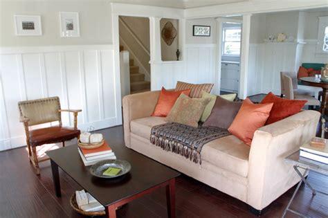 Modern Craftsman Living Room   Eclectic   Living Room