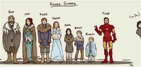 House Stark Family Tree by House Stark Team Pwnicorn