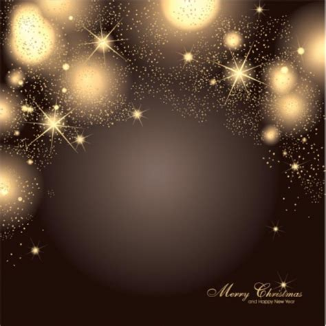 Good Christmas Ornament Party Invitations #5: Free-vector-glowing-star-pattern-christmas-elegant-background.jpg