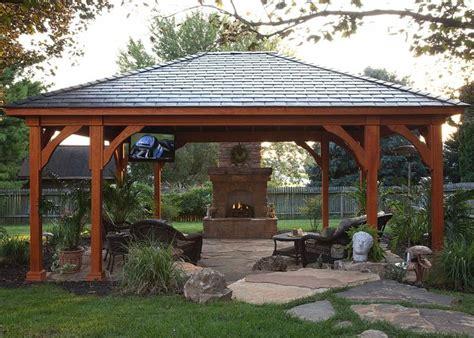 Backyard Pavilion Ideas Best 25 Backyard Pavilion Ideas On Pinterest Outdoor Shelters Pit Pavilion And