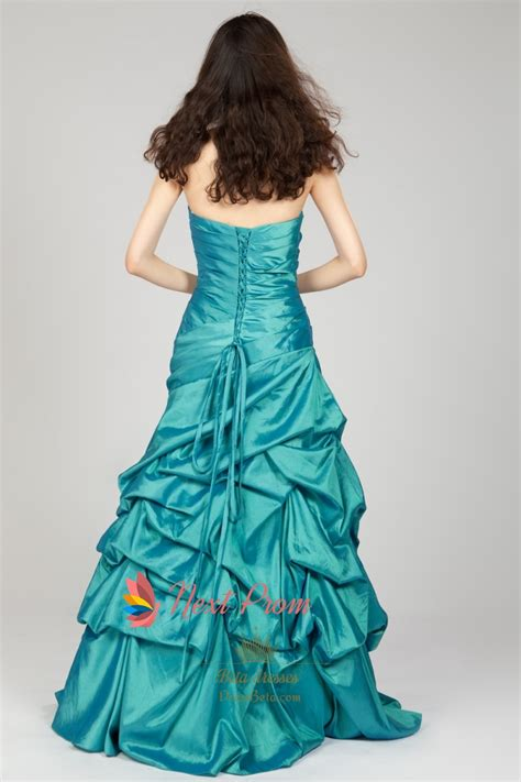 strapless beaded prom dress strapless beaded taffeta prom dress with skirt