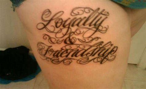 tattoo quotes loyalty loyalty quotes tattoos quotesgram