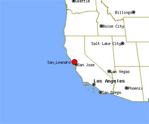 san leandro california map san leandro profile san leandro ca population crime map
