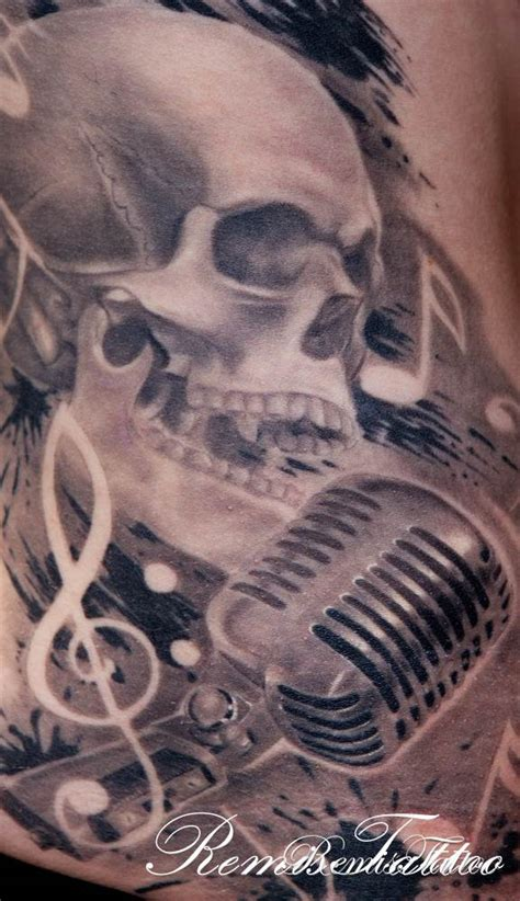 tattoo of old school microphone remistattoo com gallery tattoo gallery black and