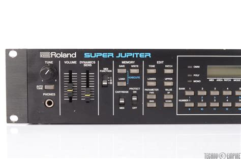 Rack Mount Synth by Roland Jupiter Mks 80 Analog Synthesizer Synth 2u