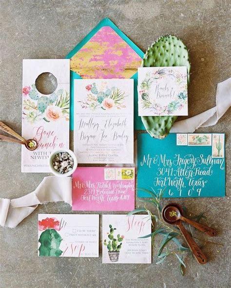 tendencia cactus para las invitaciones de bodas vestidos de novia cactus para bodas 40 ideas de decoraci 243 n fabulosas y en tendencia detalles bodas