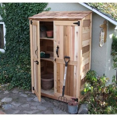 small outdoor storage closet 5 outdoor storage bargains bob s blogs