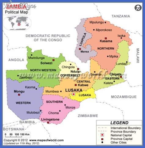 map of lusaka city zambia map toursmaps