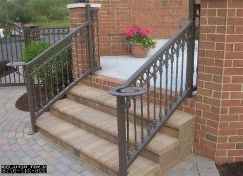 image gallery outdoor stairs kit appealing exterior stair railing kits verambelles