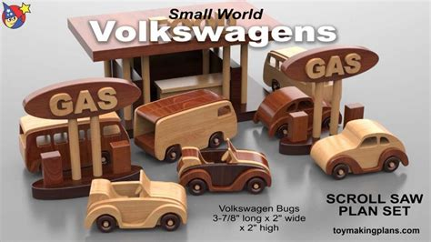 wood toy plans volkswagen bugs  buses youtube