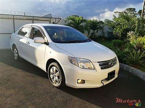2008 Toyota Axio Manual For Sale 330 000 Rs Kish