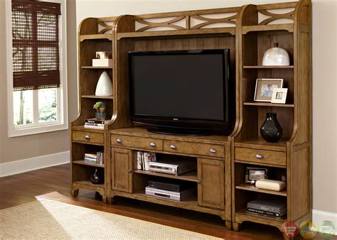 entertainment center town and country cottage style entertainment center