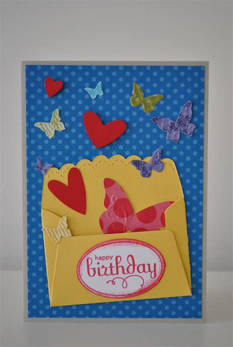 How To Make A Birthday Card Out Of Paper - birthday card easy to make birthday cards print