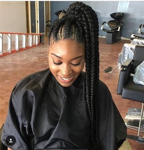 black woman twist hair styles up in pony tails 31 ghana braids styles for trendy protective looks