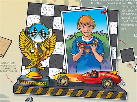 biography features display how to make a pinewood derby car display boys life magazine