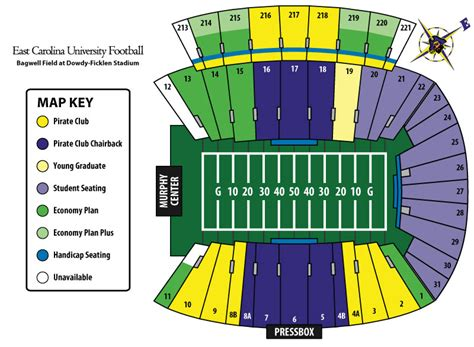 dowdy ficklen stadium seating chart navy football 2010 day central navysports