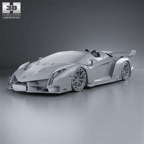 Lamborghini New Model 2014 Price Lamborghini Veneno Roadster 2014 3d Car Model