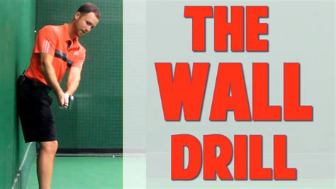 golf swing wall drill 1 3 golf swing speed stretch the wall drill top speed golf