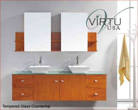 virtu usa 72 quot sink bathroom vanity clarissa honey