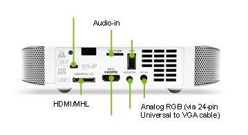 Mini Projector Acer K135 acer k137 700 lumens ultra portable hd dlp 3d projector